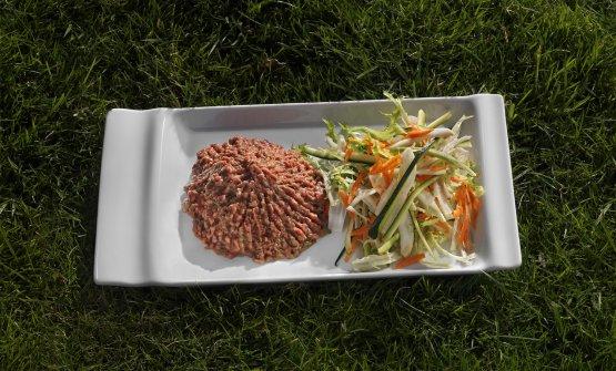 La Tartare di Erminio, piatto cult de La Montecchi