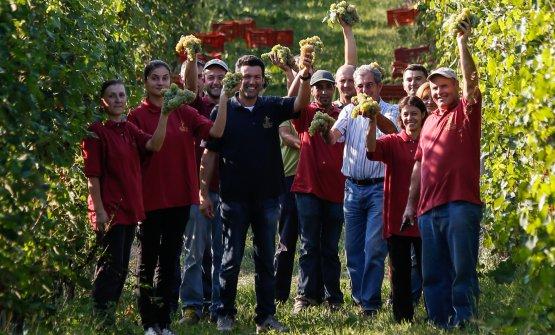 Il team delle Morette: la produzione parte dal viv