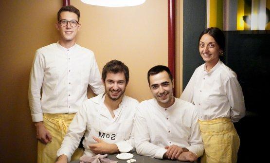 Stefano Zanini (chef) e Mattia Moro (maître somme