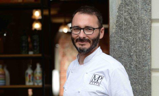 Lo chef Massimiliano Prete