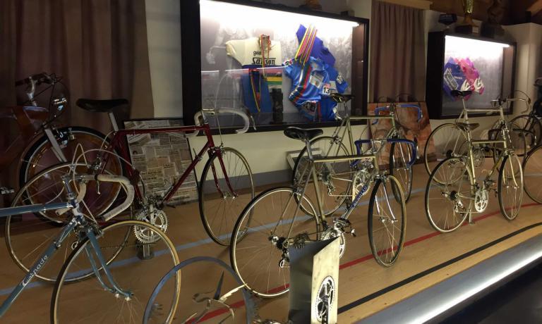 Il museo della bicicletta creato da Francesco Moser