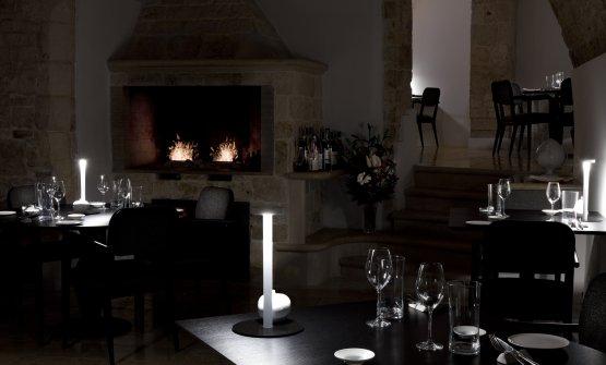 La sala del ristorante Angelo Sabatelli (foto Marco Varoli)