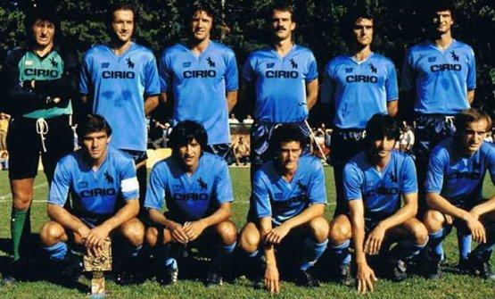 Una formazione del Napoli nella stagione 1982/83