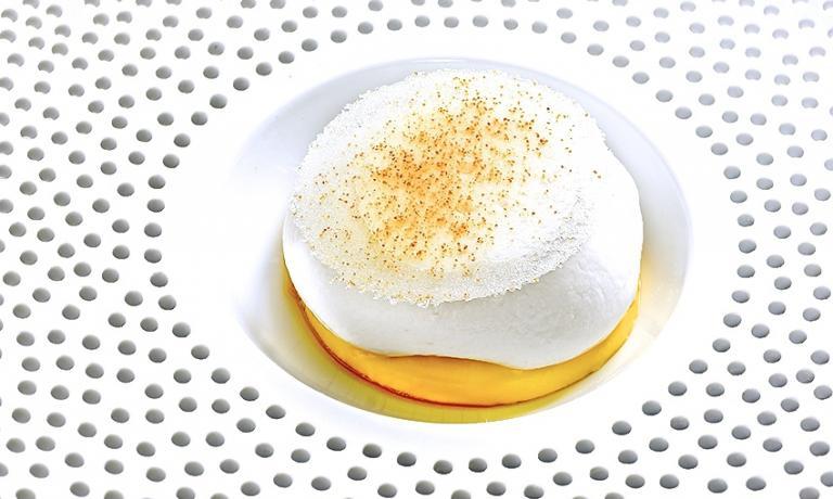 Naranjo en flor, il dessert firmato Mauro Colagreco per il pranzo di domenica prossima