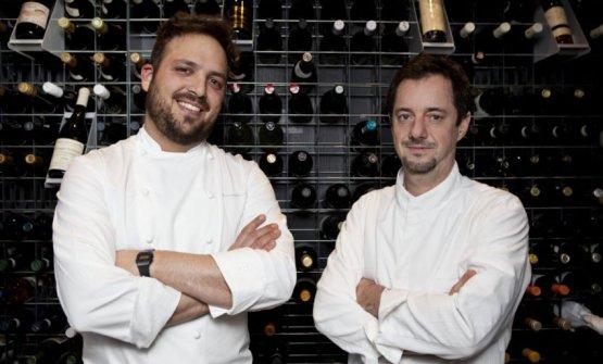 Alessandro Narducci e Angelo Troiani in un foto d'archivio (puntarellarossa.it)