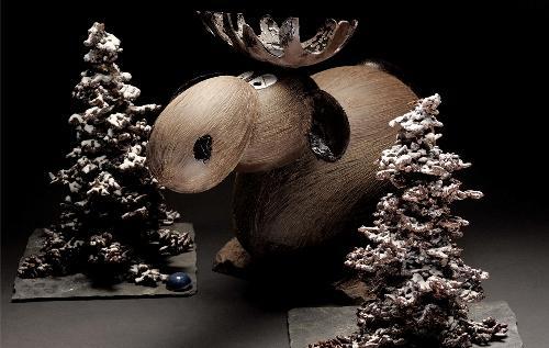 Composizione natalizia di Patrick Roger, fantastic