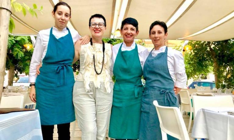 Natalia, Roberta, Giovanna, Giusy
