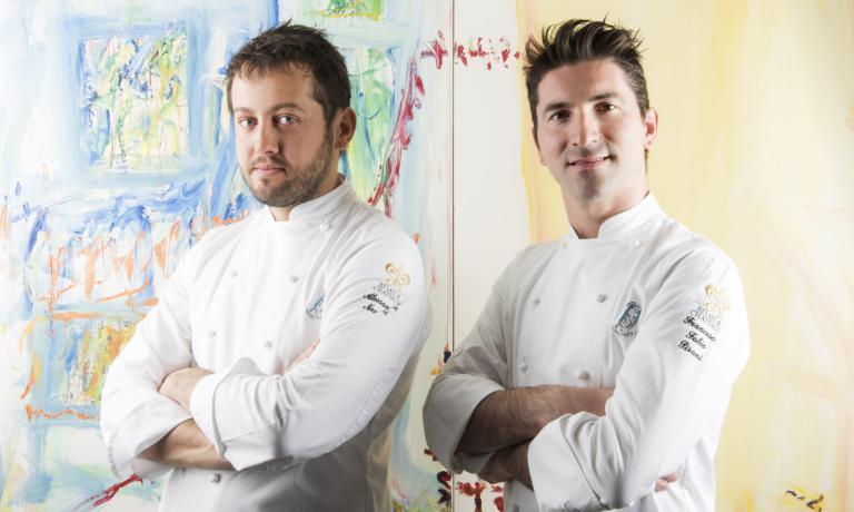 Alessandro Negrini e Fabio Pisani, co-chef deIl