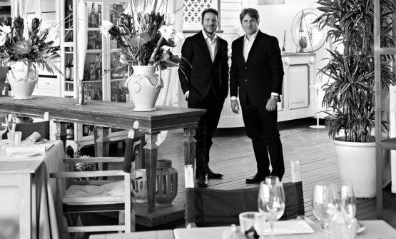 I patronNicola e Davide Stefanini