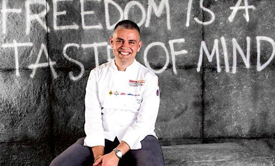Nicola Fossaceca, chef-patron, con il fratello Antonio, del Metrò a San Vito in Abruzzo, sul confine con il Molise, protagonista a Identità Golose 2016