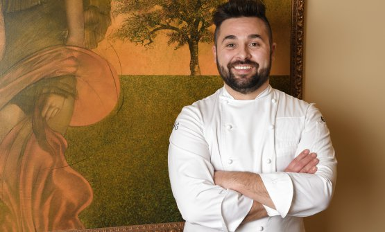 Lo chef Nicola Gronchi