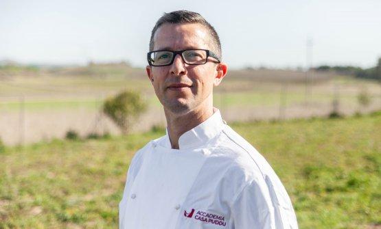 Nicola Perra, chef del Sa Scolla