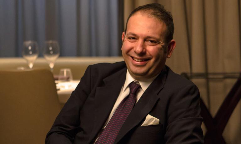 Nicola Ultimo, restaurant manager del Vun, l'i