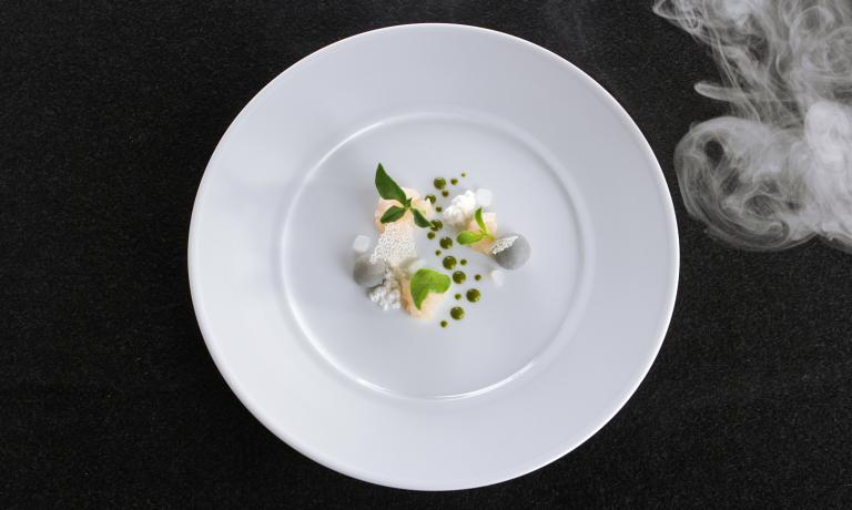 Fiume d'inverno (Winter River), a dish that represents Norbert Niederkofles's new phase