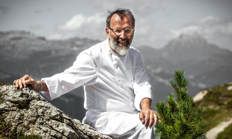 Lo chef Norbert Niederkofler
