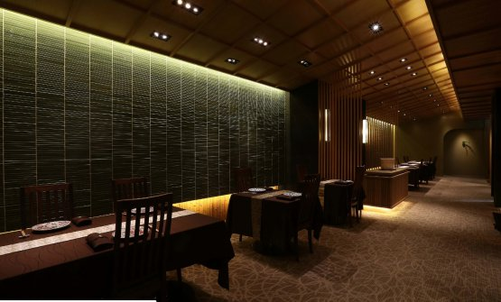 The dining room at Nihonryori-ryugin