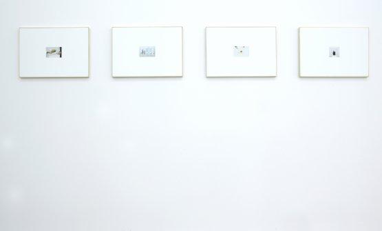 Niko Romito,Nello studio di Ettore Spalletti con Niko Romito,4 fotografie di Elisia Menduni, foto Marc Domage
