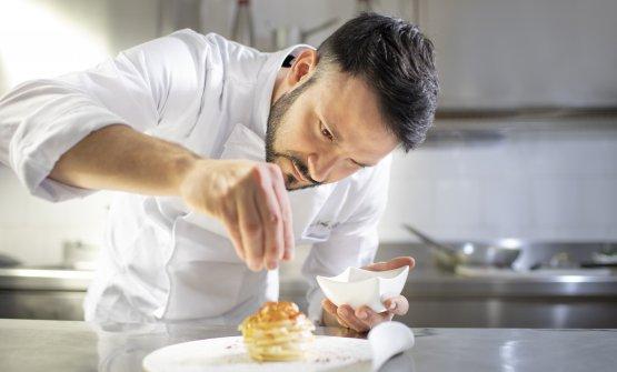 Lo chef Nicola Bandi (ph Nino Lombardi)