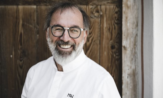 Norbert Niederkofler, born in 1961, chef at restau