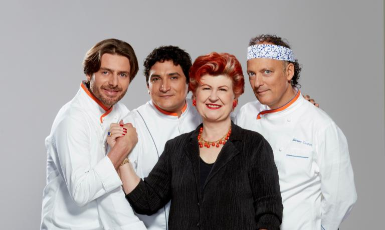 La super-giuria di Top Chef