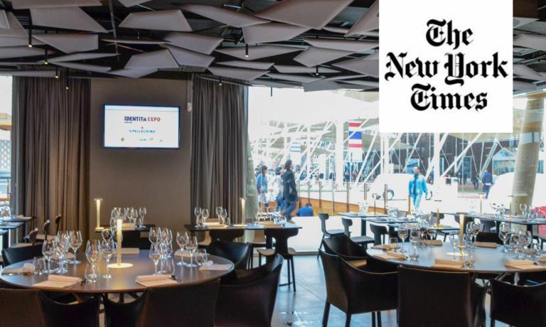 Anche il prestigioso New York Times, uno dei quotidiani pi� autorevoli e conosciuti del mondo, parla di Identit� Expo, il format studiato da Identit� Golose per l'Esposizione 2015. Cita una lezione di Andrea Ribaldone, nostro executive chef, e d� la parola al fondatore e curatore Paolo Marchi