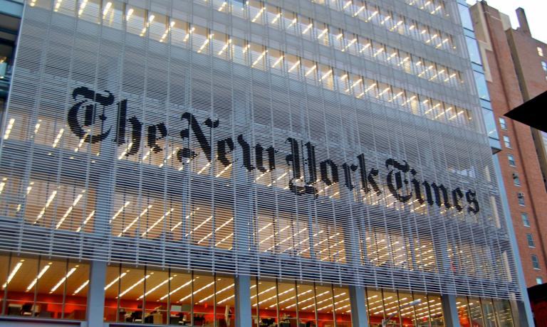 La (nuova) sede del prestigioso TheNew York Time