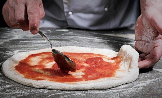 Con Tania Mauri alla scoperta dell'Oasi dell'Antica Quercia, pizzeria nel Beneventano(fotoEudechio Feleppa)