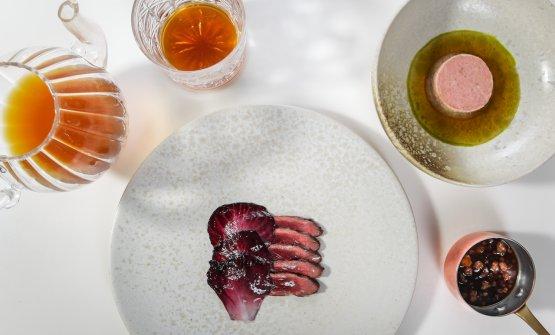Oca allevata a latte e miele: la ricetta dell'inverno di Norbert Niederkofler(foto di Daniel Töchterle)