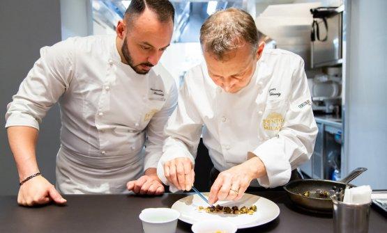 Glowig con Alessandro Rinaldi, nostro executive chef