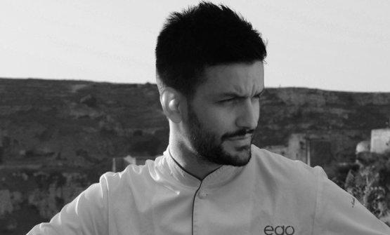 Nicola Popolizio, chef di Ego a Matera