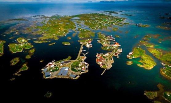 Panoramica sull'isola di Røst, nelle Lofoten, tratta dal film