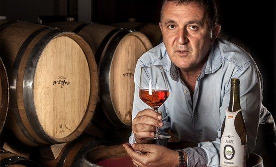L'enologo Camillo Zulli