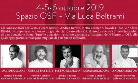 Grandi Cuochi Per Opera: I risotti più buoni di Milano