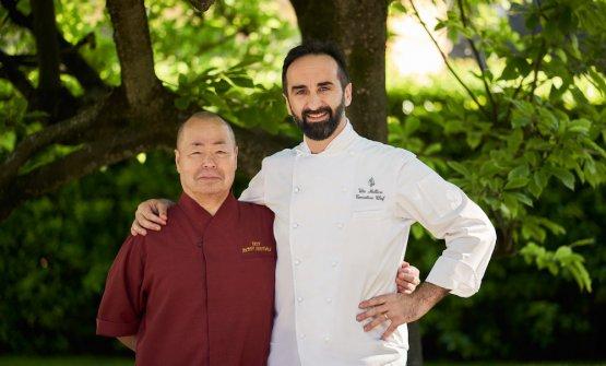 I due chef (foto Four Seasons)