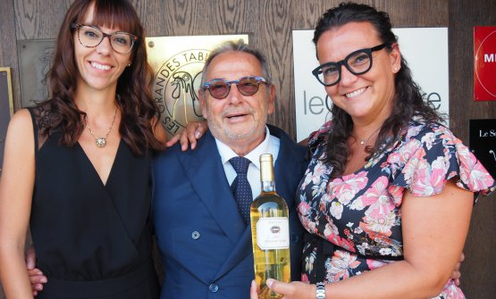 Maria Vittoria, Fausto e Angela Maculan alle Calandre
