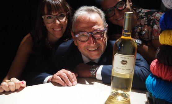Maria Vittoria, Fausto e Angela Maculan presentano