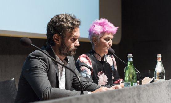 Carlo Cracco e Cristina Bowerman