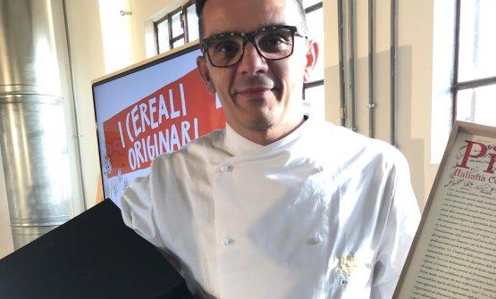 Paco Magri, chef del ristorante Dordoni a Cremona