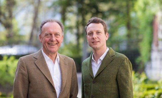 Padre e figlio: Alois e Alois Clemens Lageder