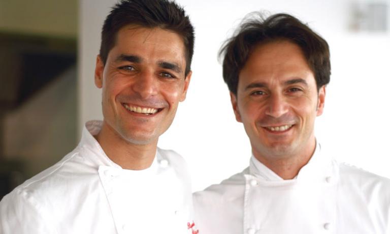 Pasquale Palamaro e Nino Di Costanzo in una foto pubblicata tre anni fa nel blog An Experimental Cook