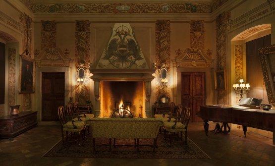 Palazzo Lana,Sala del Caminadù