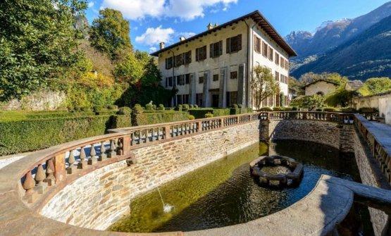 Il Palazzo Vertemate Franchi di Chiavenna, centro della prima edizione del Valtellina Wine Festival