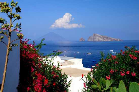 Vista dell'Isola Panarea