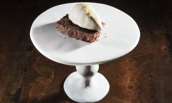 Pane e cioccolato nella foto che Brambilla - Serrani scattarono a Identità Golose 2019