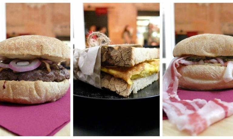 Tre super-panini al Terrae Motus (foto Tanio Liotta)