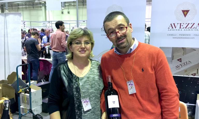 Paolo Avezza e la moglie