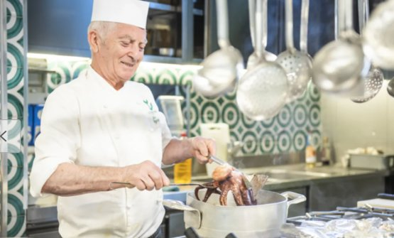 Paolo De Gregorio, cuoco da più di 50 anni
