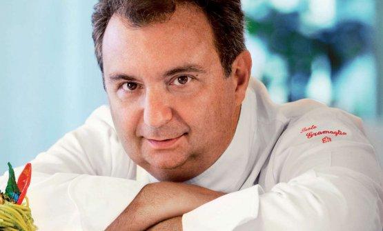 Lo chef Paolo Gramaglia