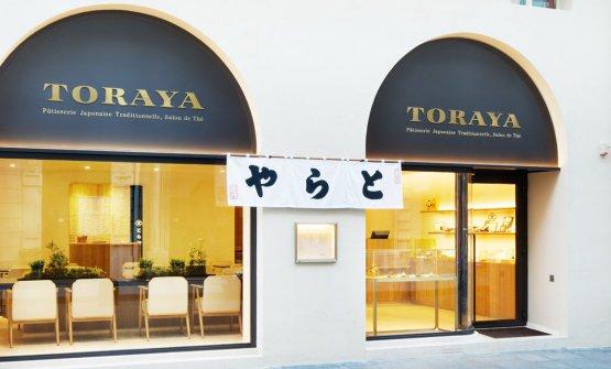 Il negozio Toraya di Parigi