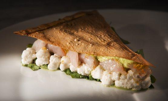 Pasqualina salad, così Marco Visciola ha chiamato una versione ancora più creativa della Torta Pasqualina